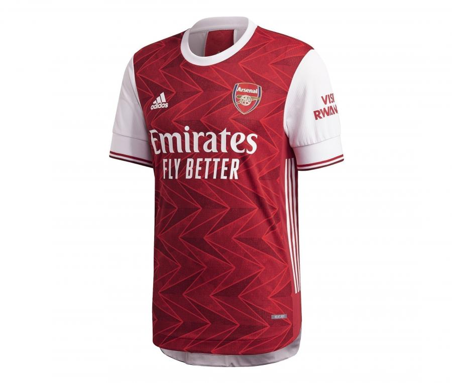 Maillot Authentique Arsenal Domicile 2020/2021
