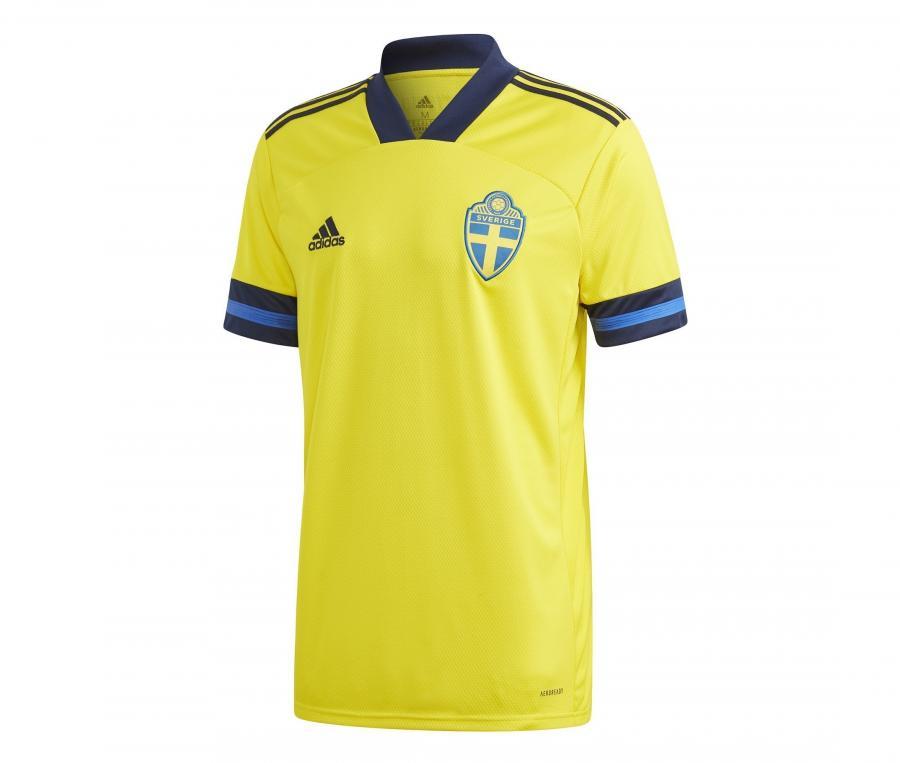 Maillot Suède Domicile Euro 2020