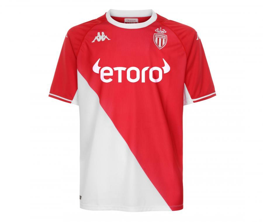 Maillot AS Monaco Domicile 2021/2022 Junior
