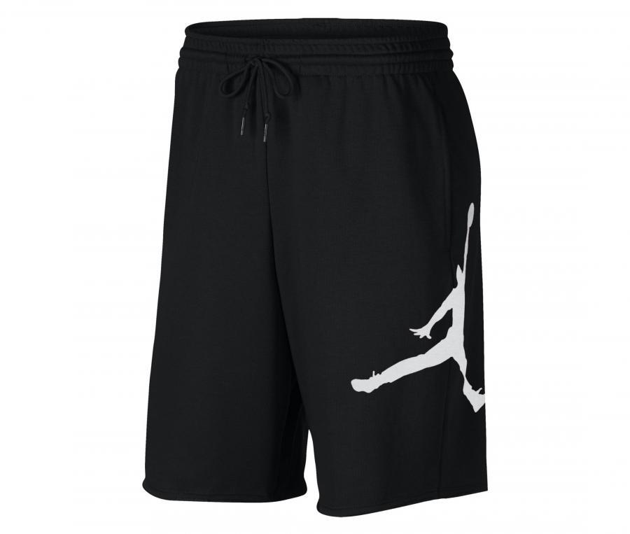Short Nike Jumpman Air Logo Noir