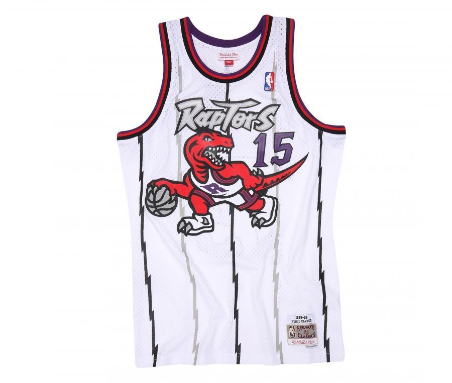 Maillot Toronto Raptors Carter numéro 15 1998/99 Blanc
