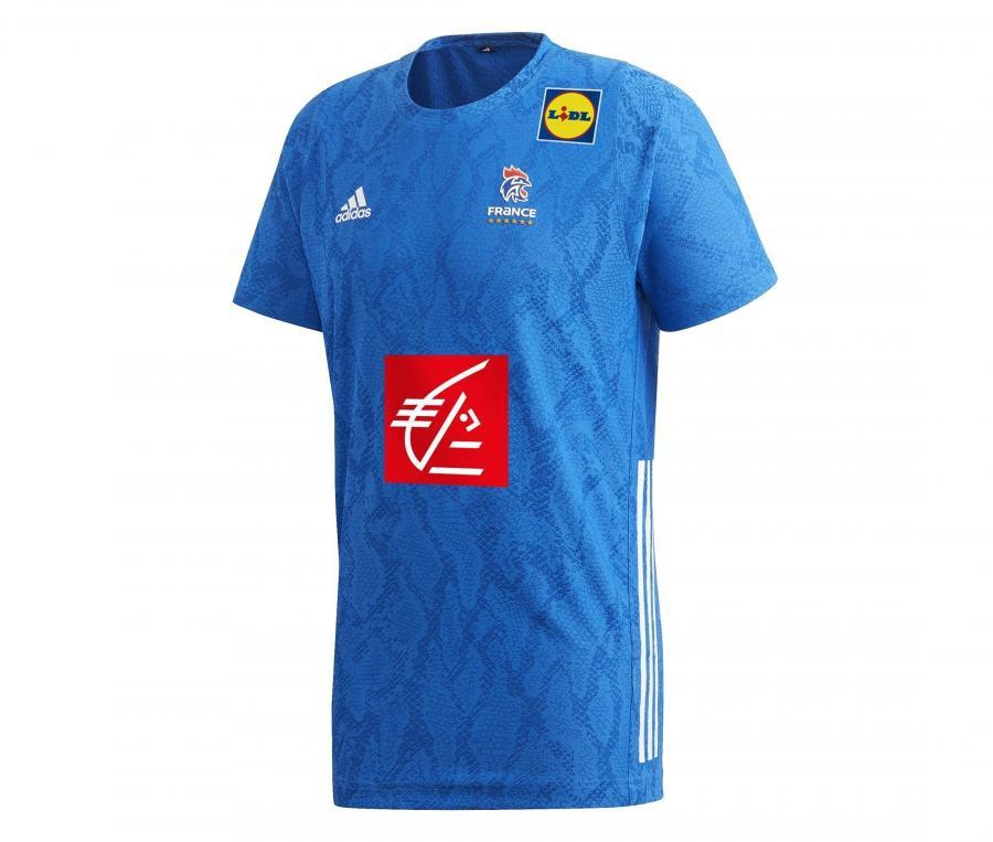Maillot Handball France FFHB Domicile 2019/20 Junior