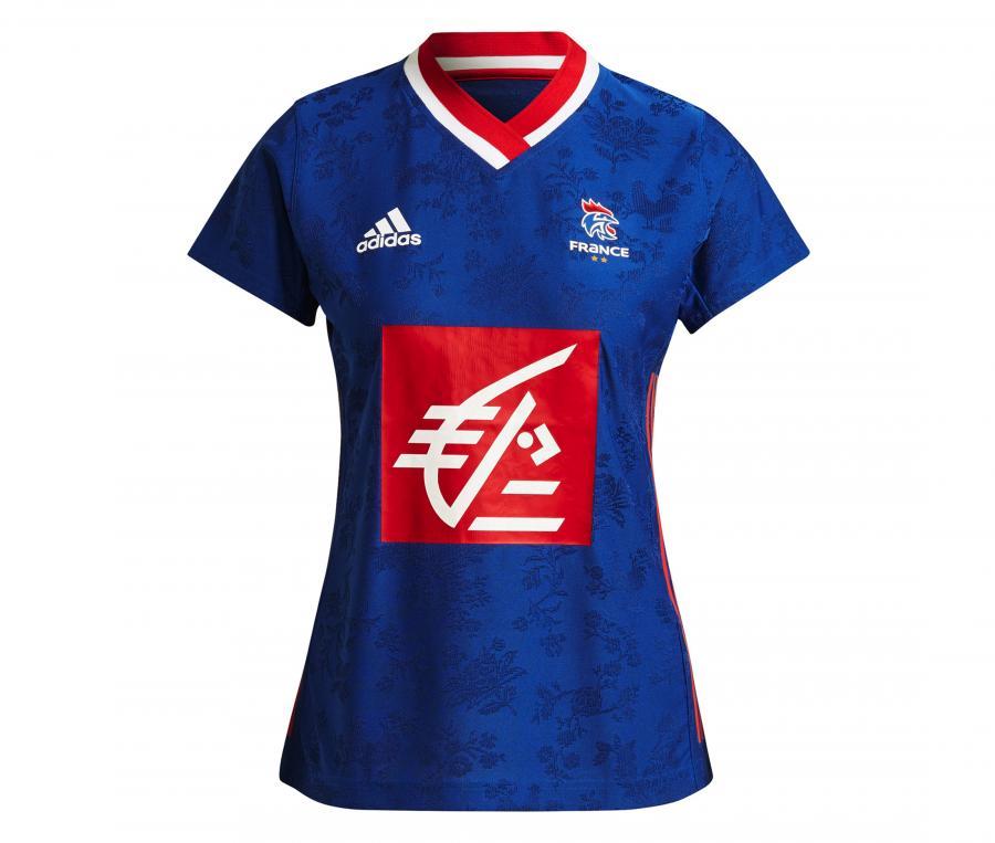 Maillot Handball France FFHB Domicile 2021/2022 Femme
