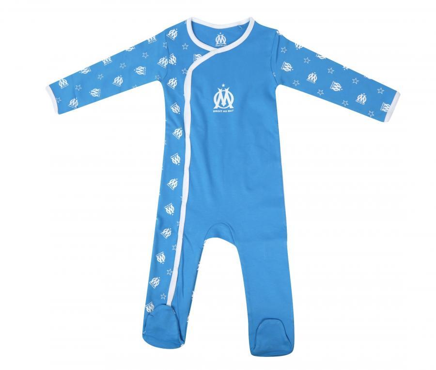 OM Baby's romper Blue