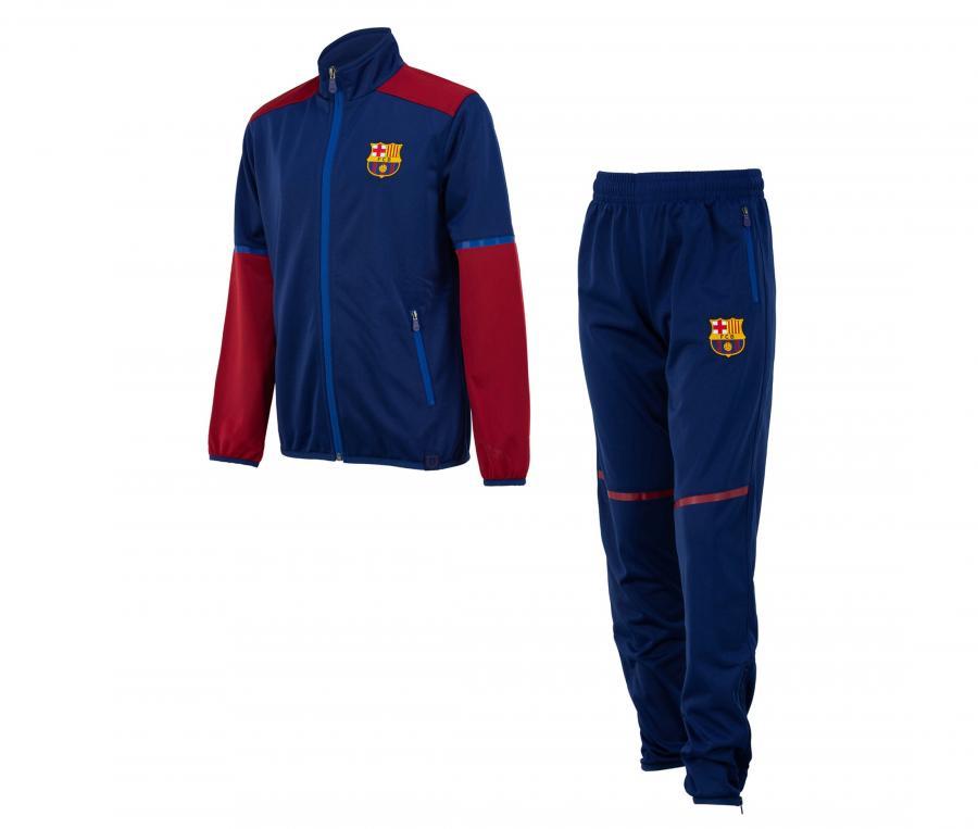 Survêtement Barça Fan Bleu Junior
