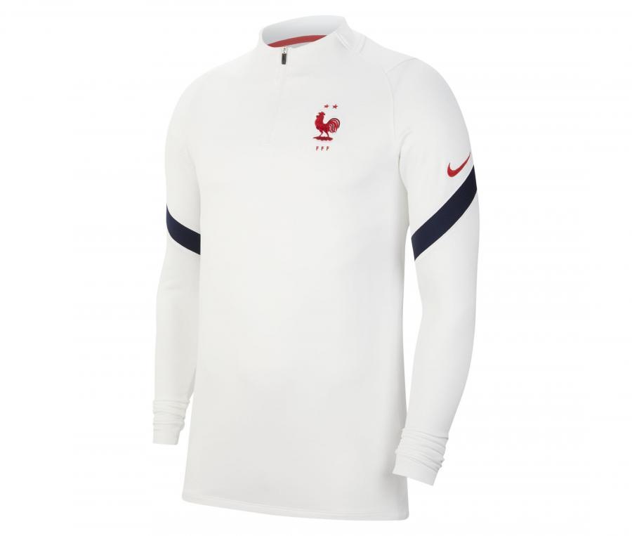 Training Top France Strike Blanc