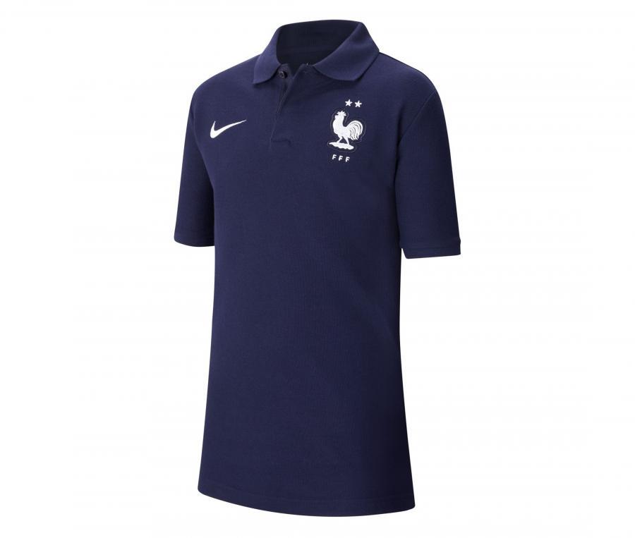 Polo France Bleu Junior