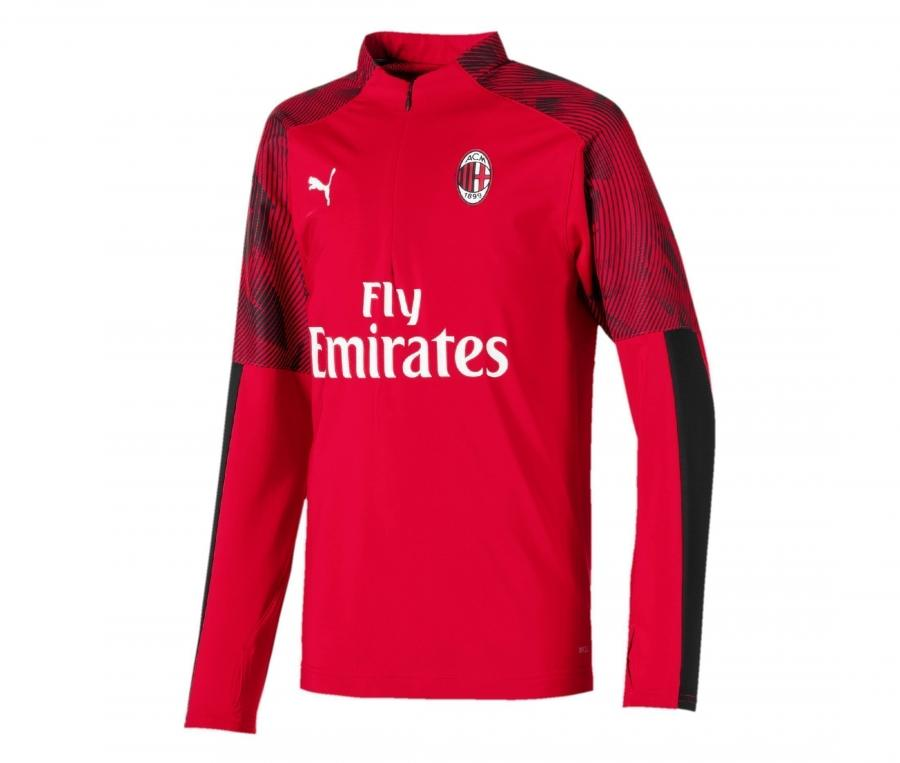 Training top Milan AC Rouge/Noir