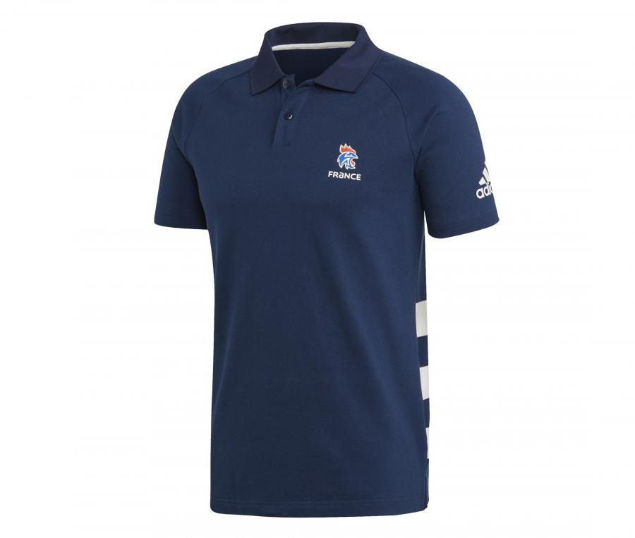 Polo Handball France FFHB Bleu
