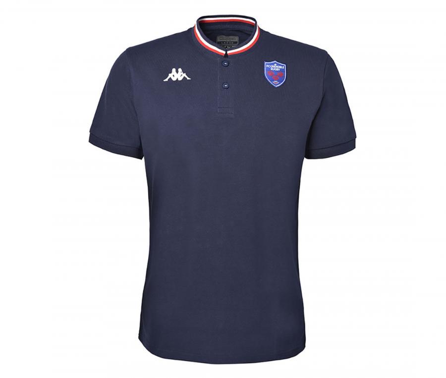 Polo FC Grenoble Rugby Rotini Bleu
