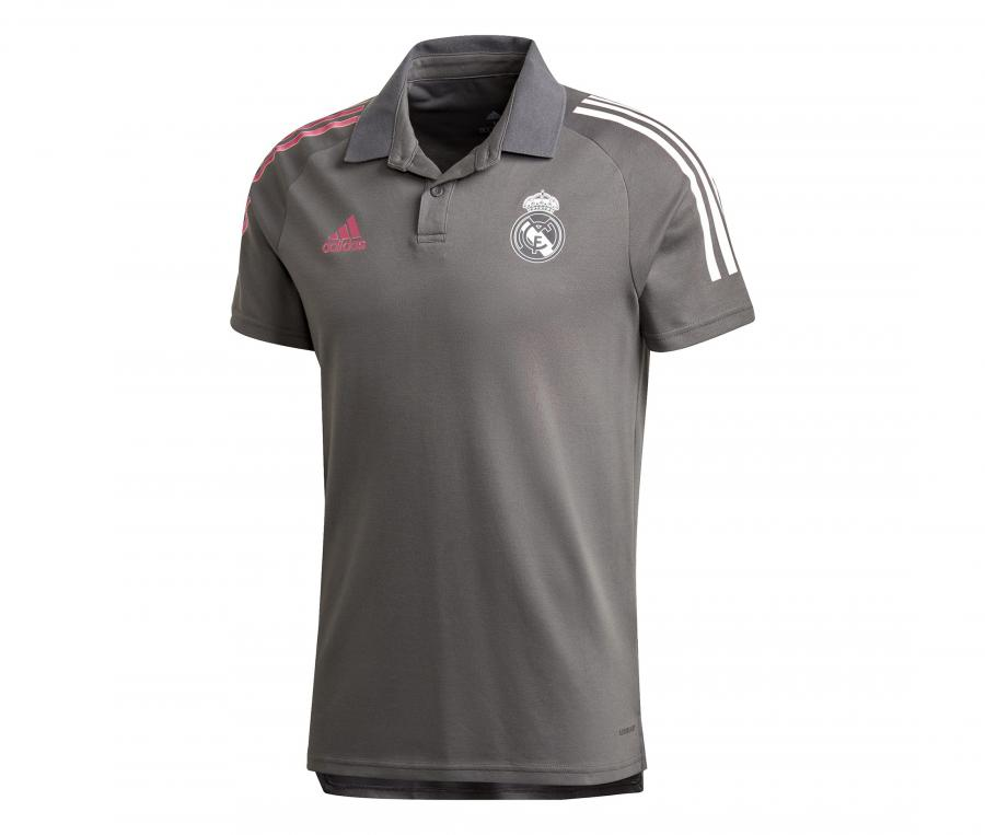Polo Real Madrid Gris