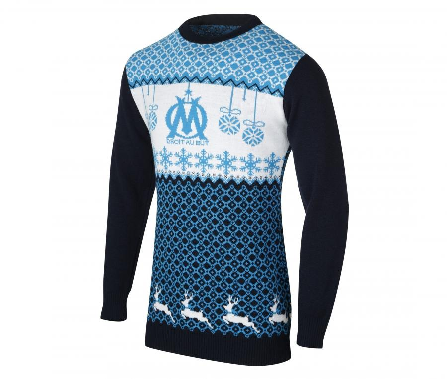 Women's OM Pullover Blue/White