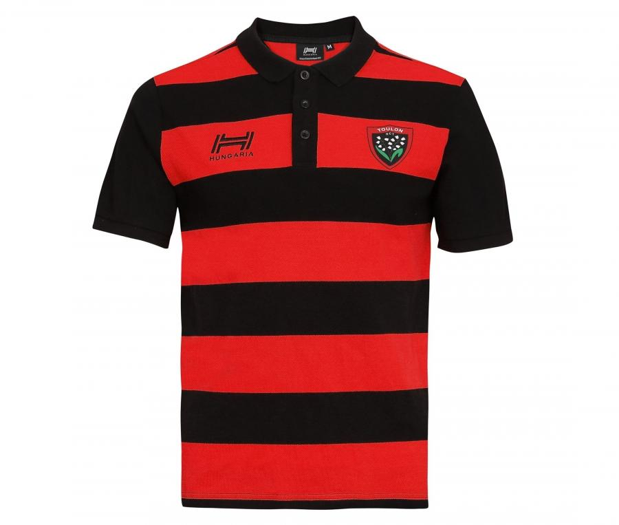 Polo RC Toulon Rouge/Noir