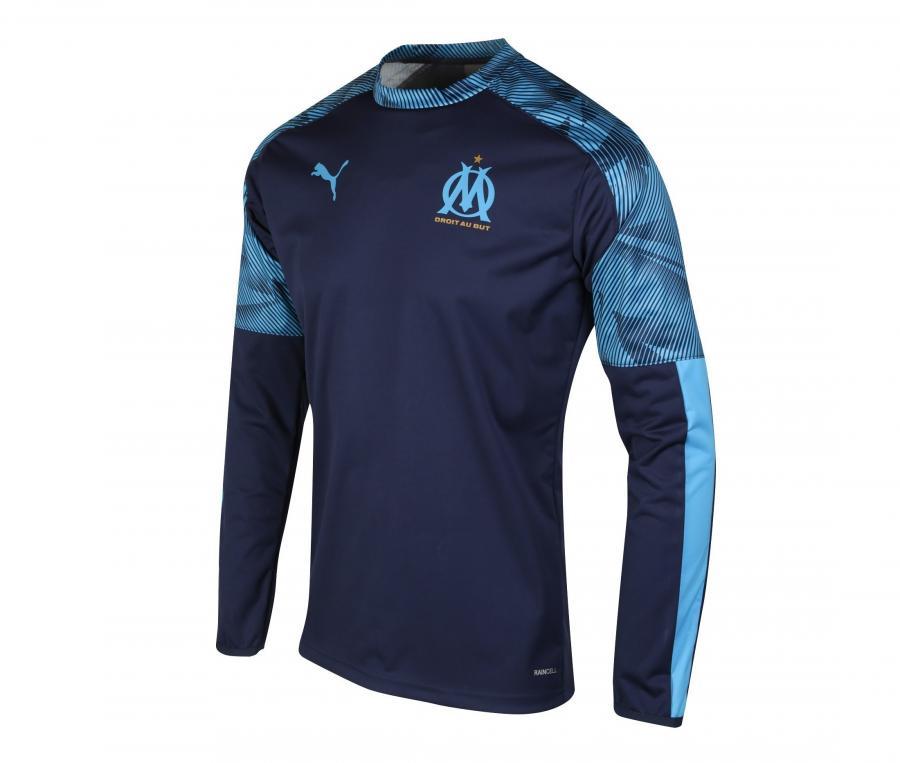 OM Mens's Training Sweater Blue