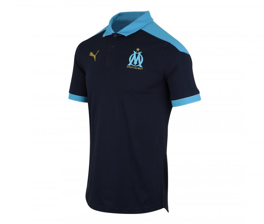 OM Sideline Men's Polo Blue