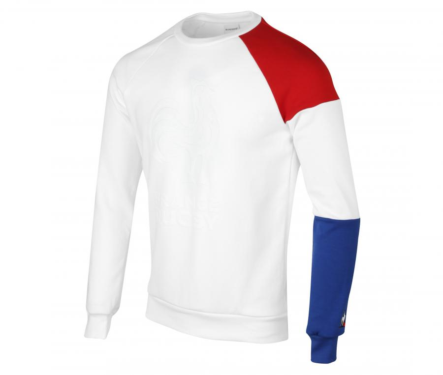 Sweat-Shirt France FFR Blanc