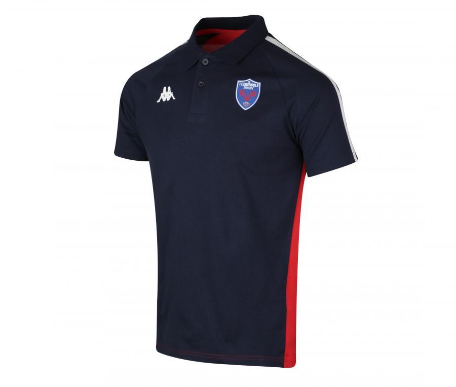 Polo FC Grenoble Rugby Garigliano Bleu