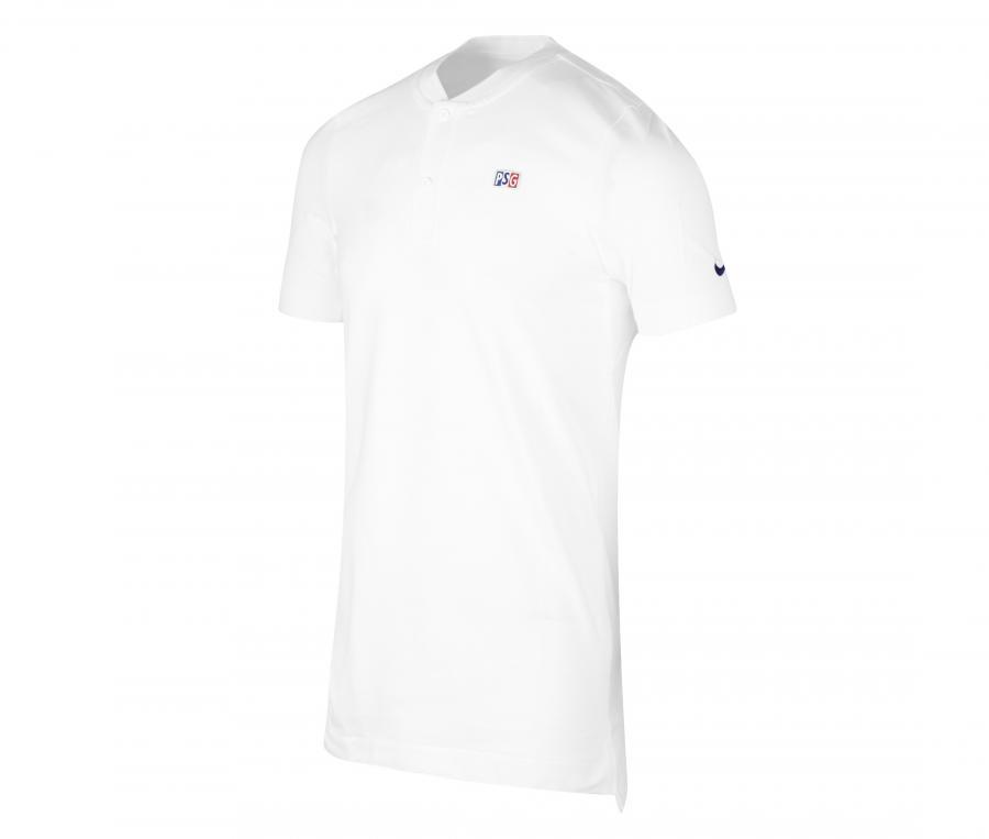 Polo PSG Modern Blanc