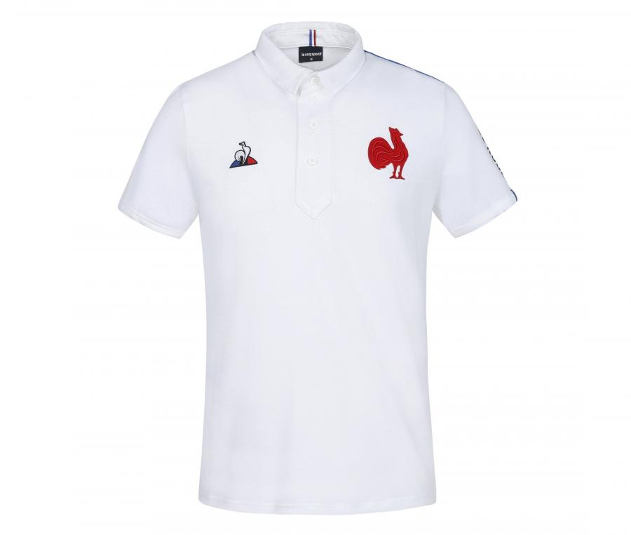 Polo France Rugby Présentation Blanc