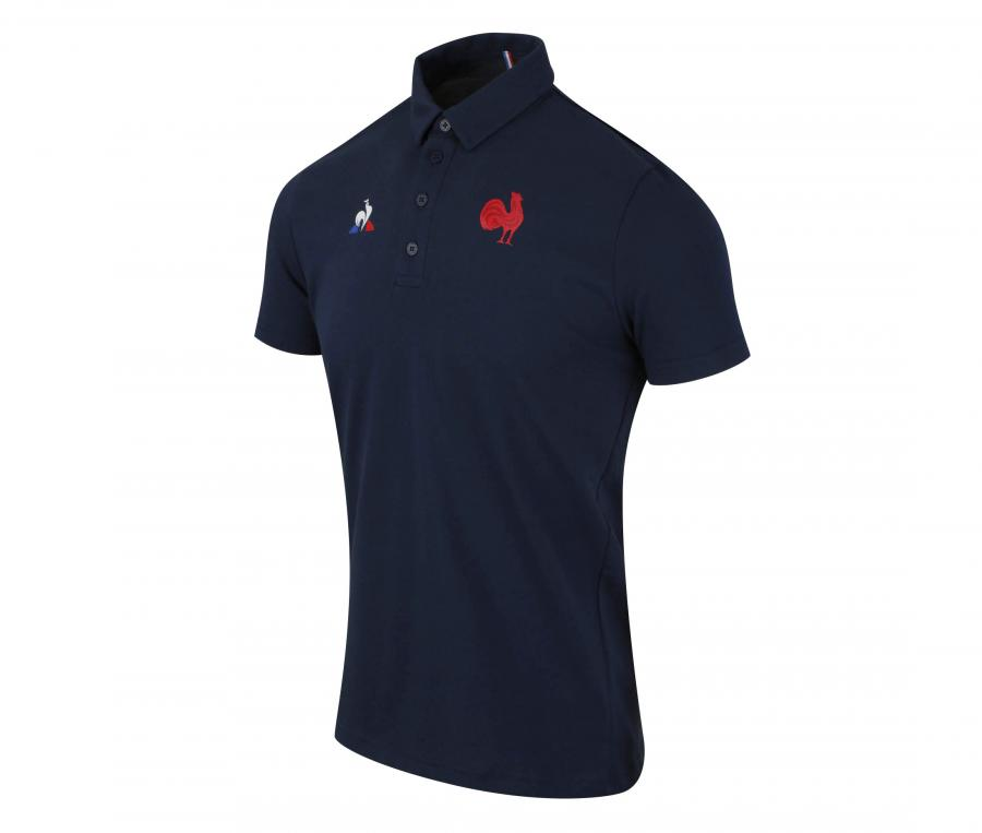 Polo France Rugby Bleu