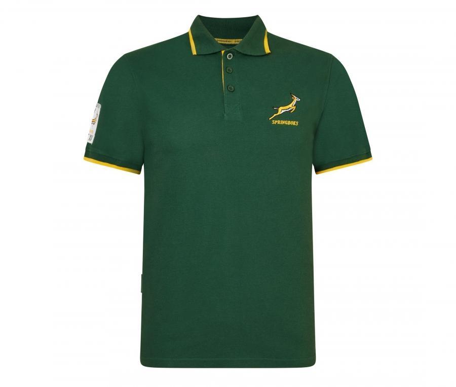Polo Springboks Vert