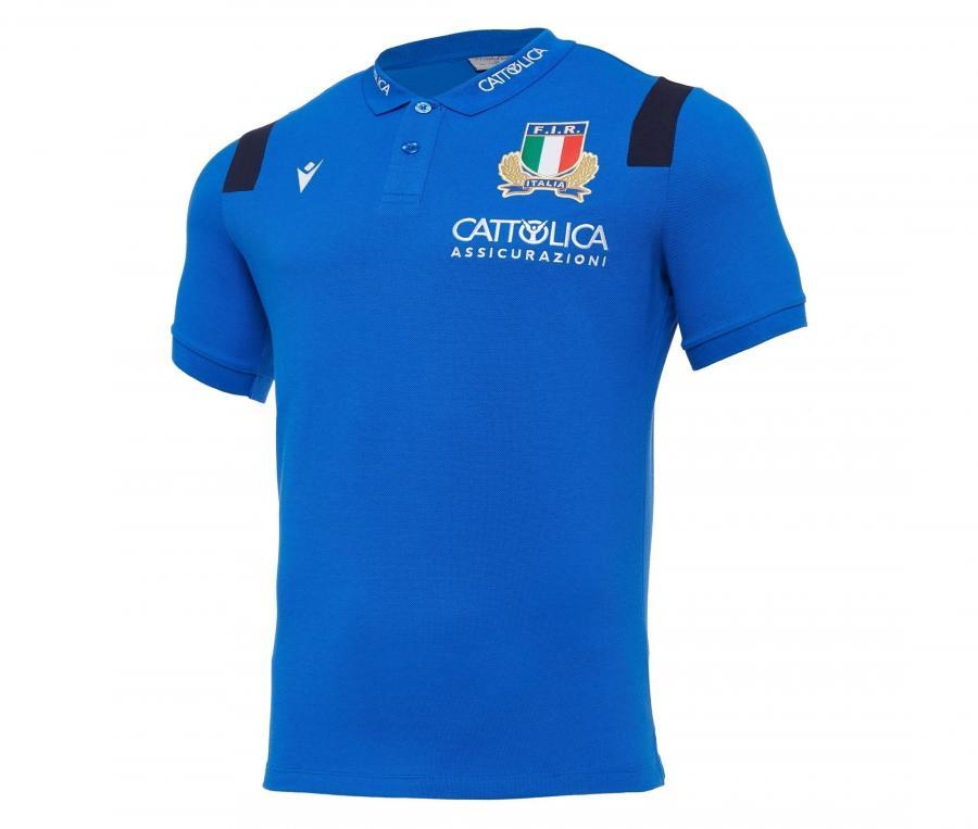 Polo Italie Travel Bleu