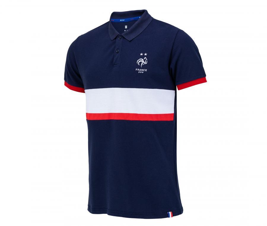 Polo France Fan Bleu