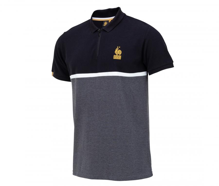 Polo France Lifestyle Gris/Noir