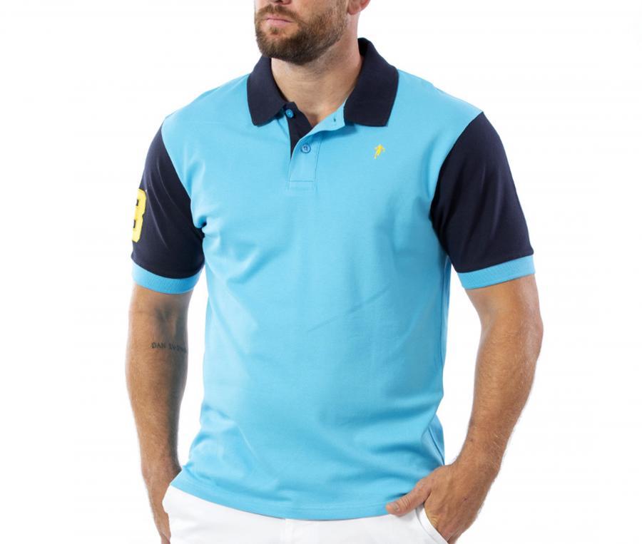 Polo Ruckfield Bleu
