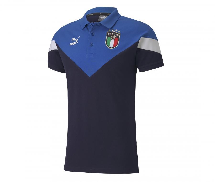 Polo Italie Iconic Bleu