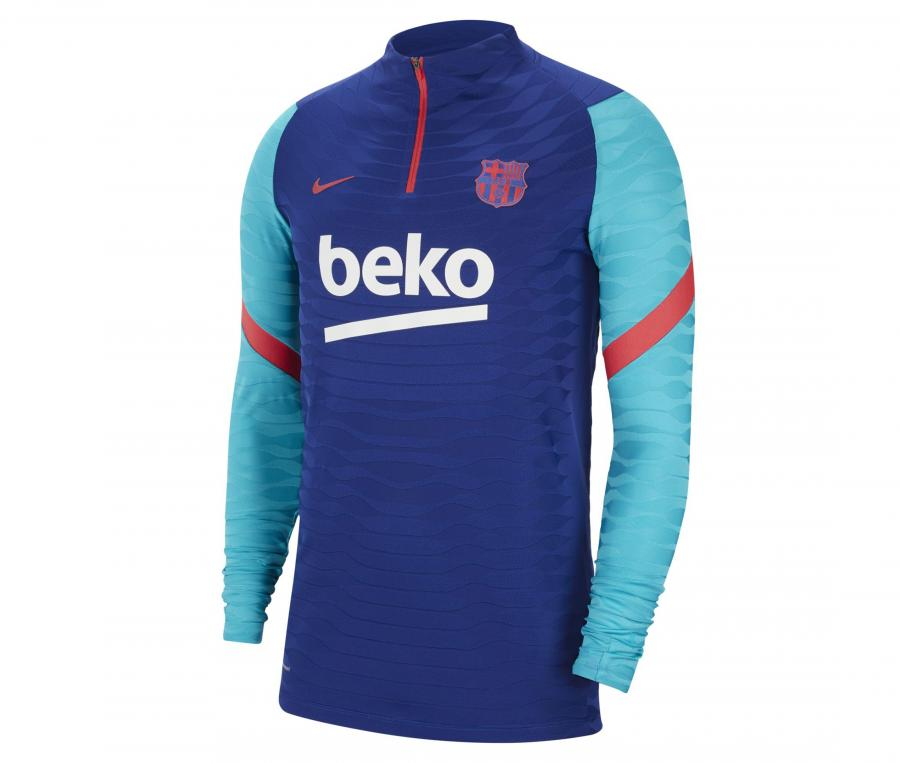 Training Top Barça VaporKnit Strike Bleu