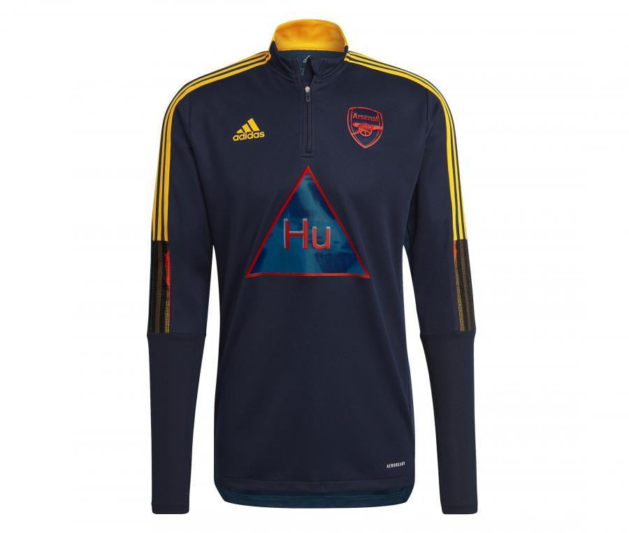 Training Top Arsenal Human Race Bleu