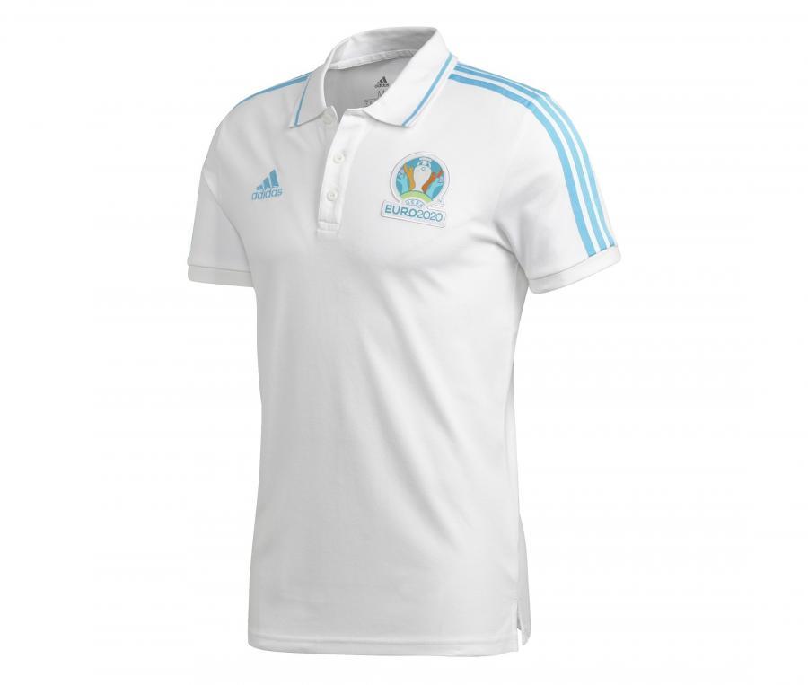 Polo UEFA EURO 2020 Officiel Blanc