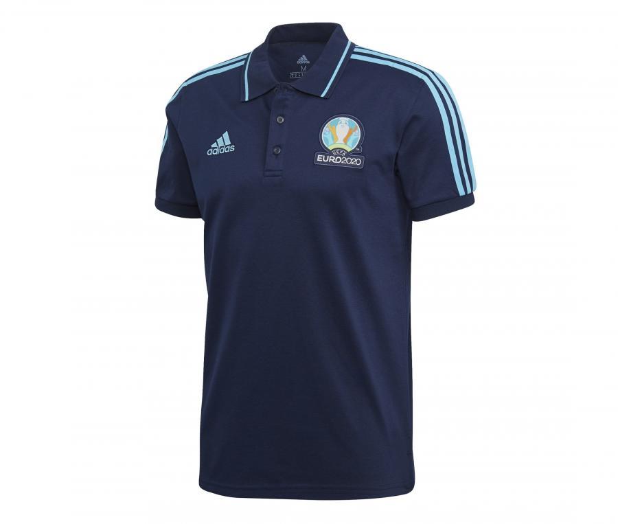 Polo UEFA EURO 2020 Officiel Bleu
