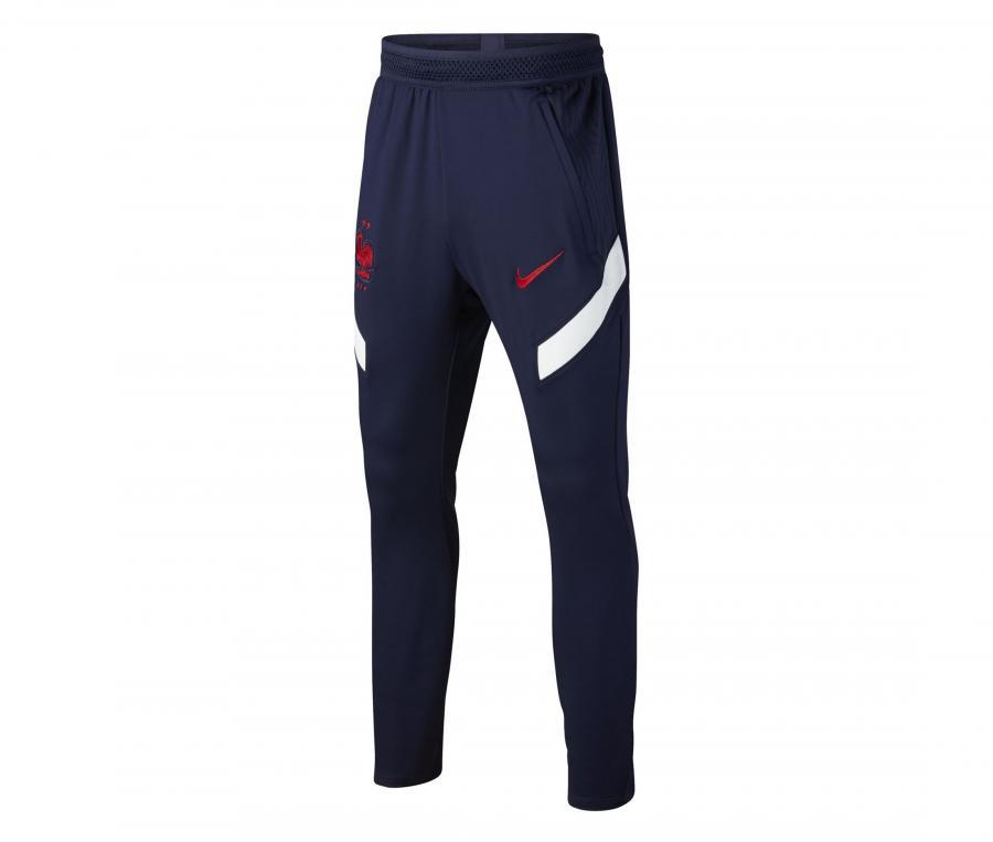 Pantalon Entraînement France Strike Bleu Junior