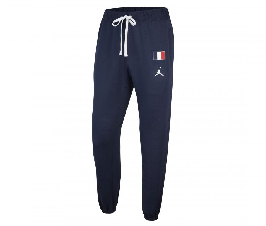 Pantalon France Jordan Therma Flex Showtime Bleu