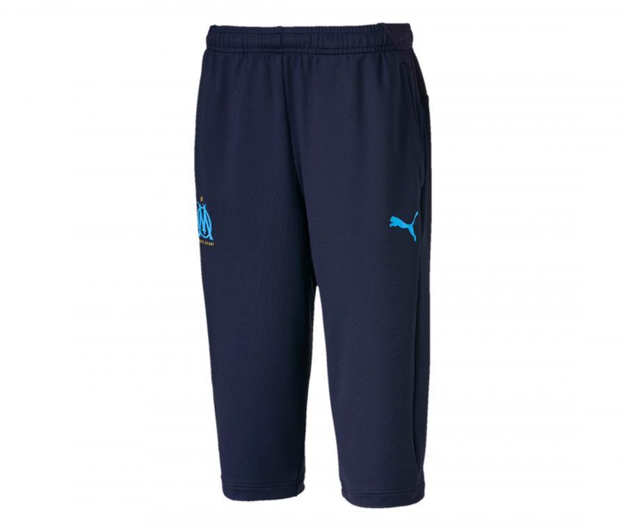 Pantalon 3/4 Entraînement OM Bleu Junior
