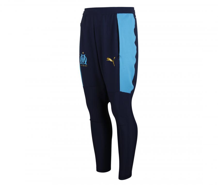Pantalon Entraînement OM Pro Bleu Junior