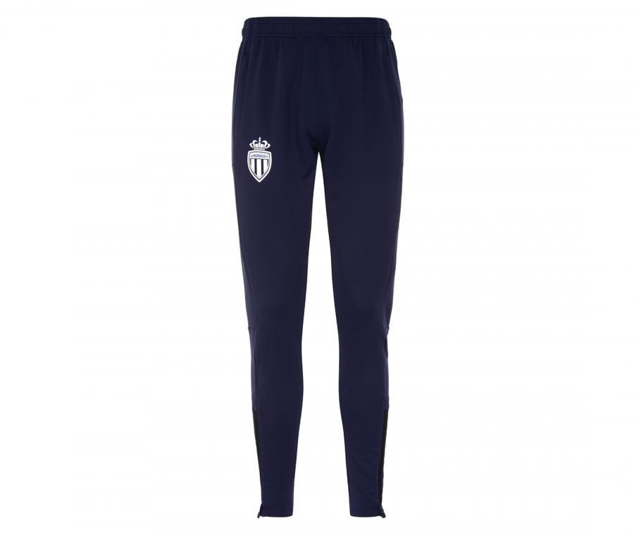 Pantalon AS Monaco Abunszip Pro 5 Bleu Junior