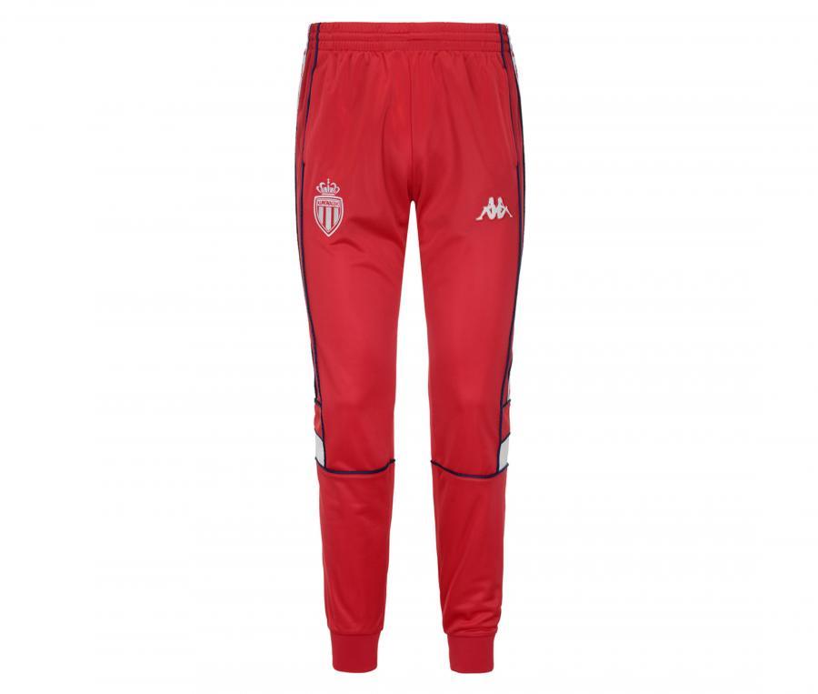 Pantalon AS Monaco 222 Banda Mems Rouge Junior