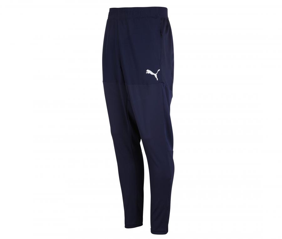 OM Stadium Kid's Football Pants Blue