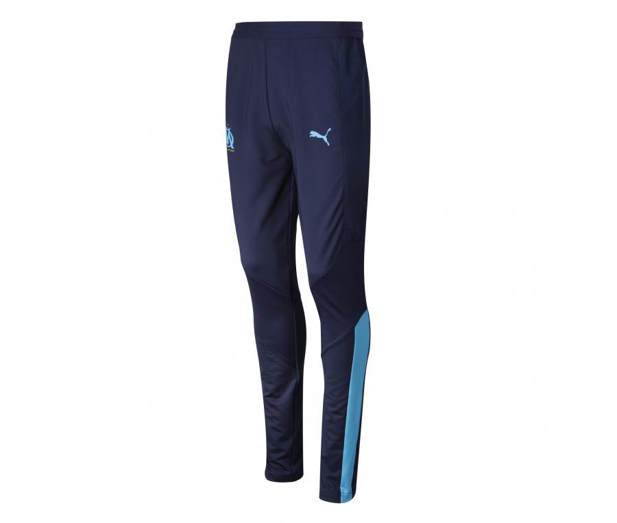 Pantalon Entraînement OM Pro Bleu Femme