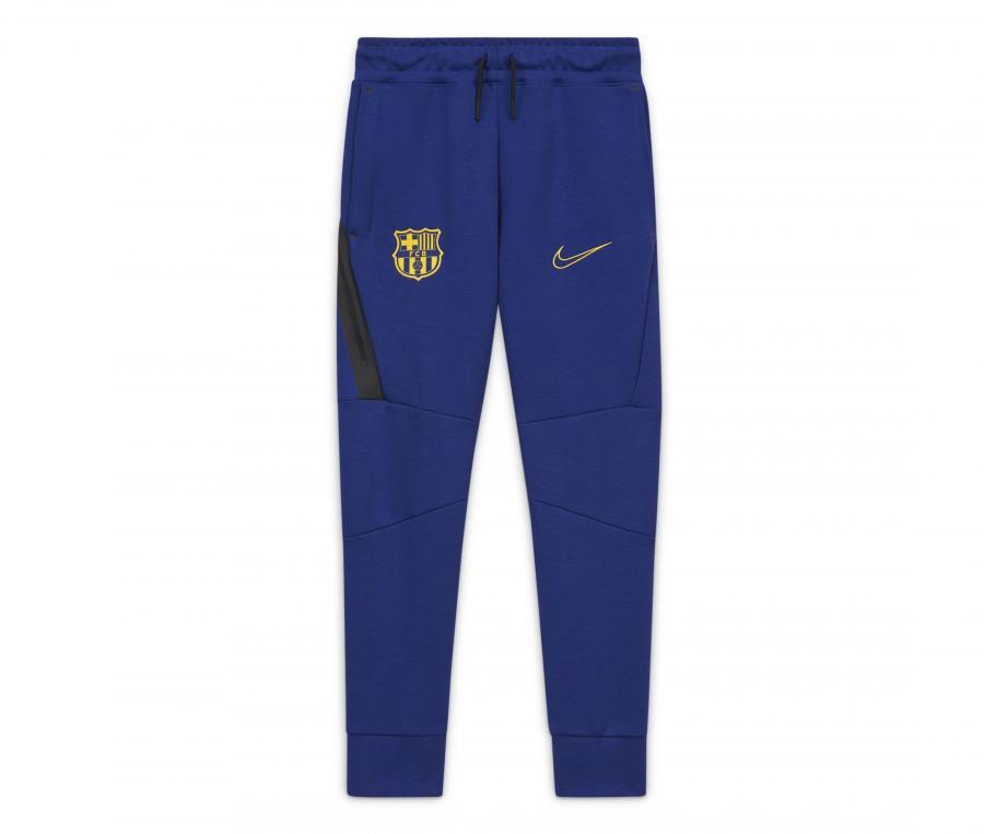 Pantalon Barça Fleece Bleu Junior