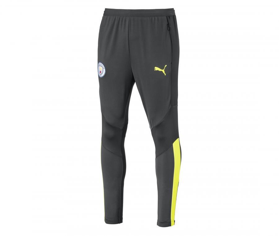 Pantalon Entraînement Manchester City Gris