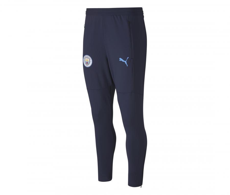 Pantalon Entraînement Manchester City Bleu
