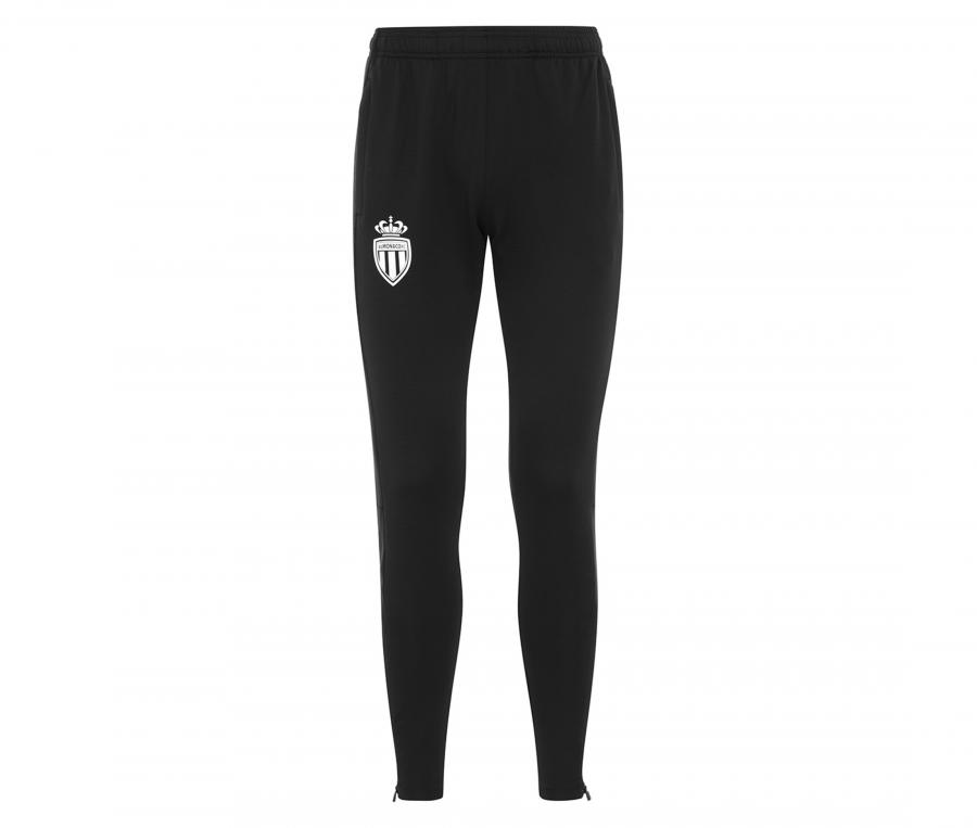 Pantalon AS Monaco Abunszip Pro 4 Noir Junior
