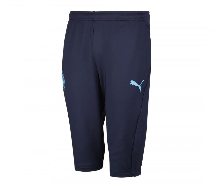 OM 3/4 Training Men's Football Pants Blue