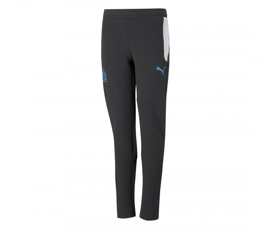 Pantalon OM Evostripe Noir/Blanc Junior