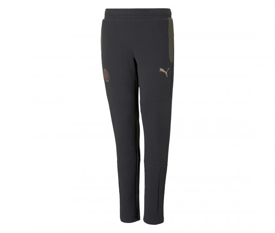 Pantalon Manchester City Evostripe Noir/Vert Junior