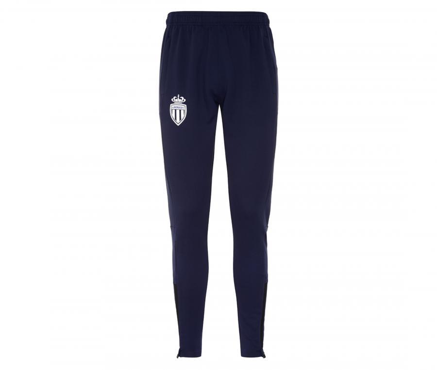 Pantalon AS Monaco Abunszip Pro 5 Bleu